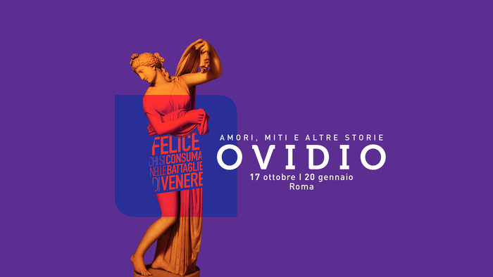 Ovidio. Myths and other stories exhibition in Rome