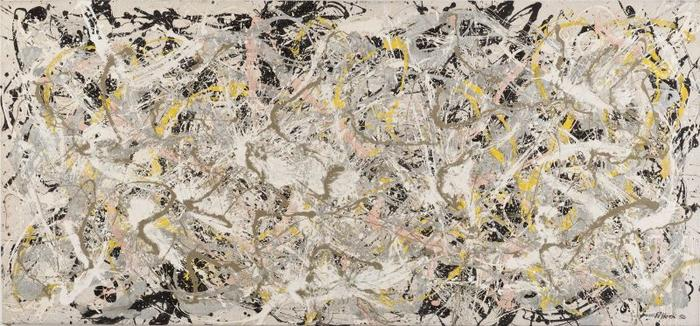 Pollock and the New school exhibition in Rome