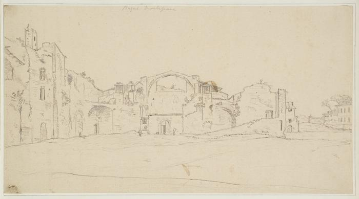 The baths of Diocletian by William Marlow