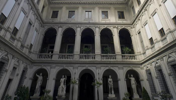 Palazzo Altemps courtyard