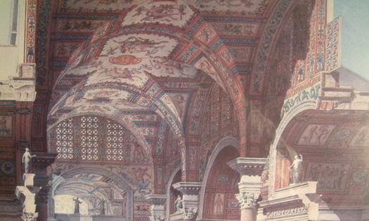 The baths of Diocletian interior