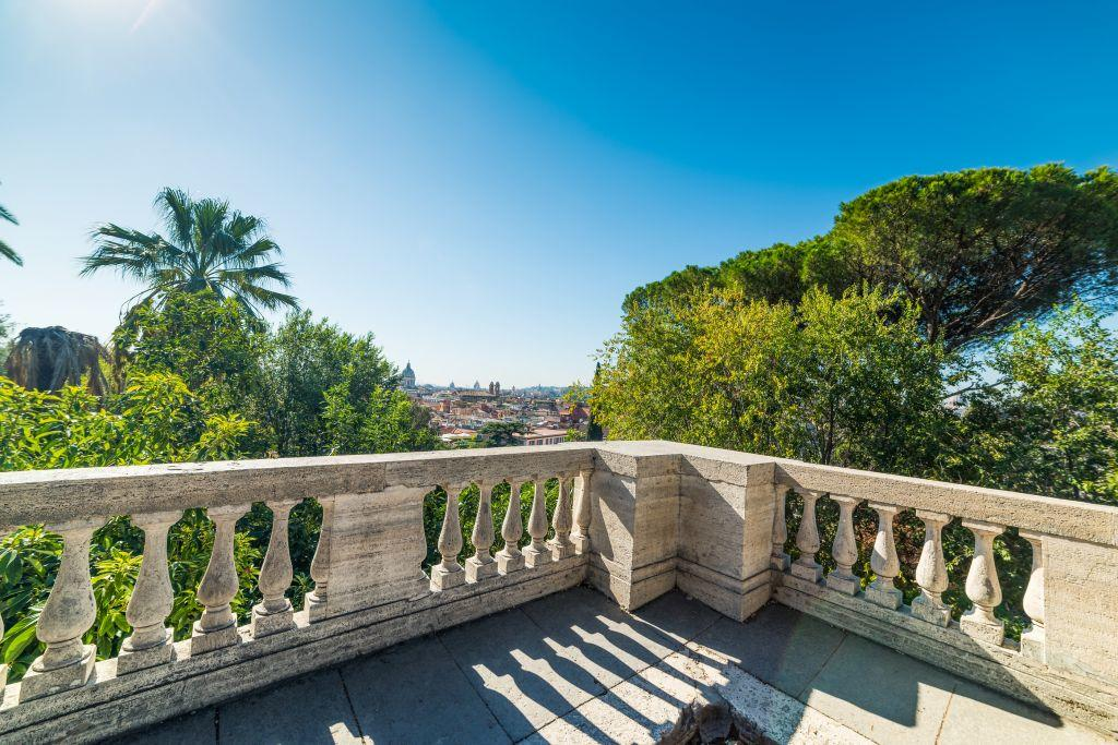 Panoramic view from Pincio Terrace