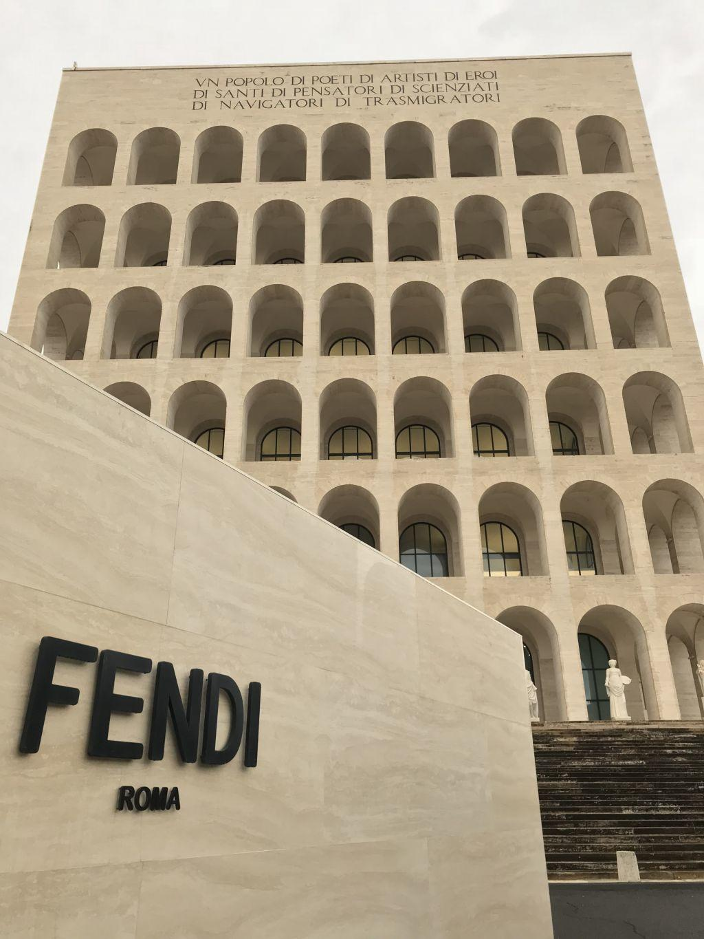 Fendi headquarters in Rome