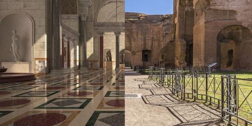 Once a place for relaxation and socialisation, Baths of Caracalla are a majestic archaeological remain that can be now be experienced through a 3D tour.