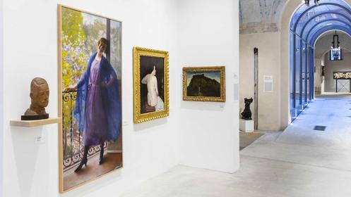 Musia gallery in Rome